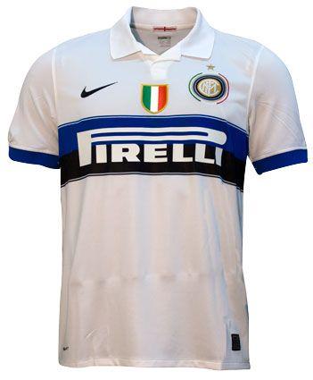F.C. INTERNAZIONALE MILANO seconda maglia Anno 2010