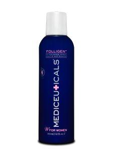 FOLLIGEN™  Phytoflavone shampoo voor normaal haar en hoofdhui. Complex van Triaminocoptinol™ – ondersteunt het verminderen van overmatig haaruitval en stimuleert nieuwe haargroei. PureZero™ complex – SLS-vrij Estolin™ – een natuurlijk anti-androgeen DHT remmend complex PH vriendelijk, milde reiniging. Geschikt voor fijn en/of dunner wordend haar. Biedt bescherming tegen verkleuring van het haar. #LintsenKappers #Lintsen #Mediceuticals