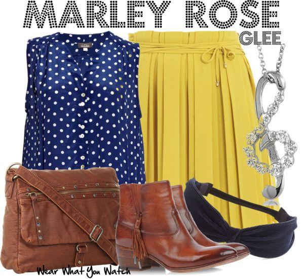 Inspired by Melissa Benoist as Marley Rose on Glee.