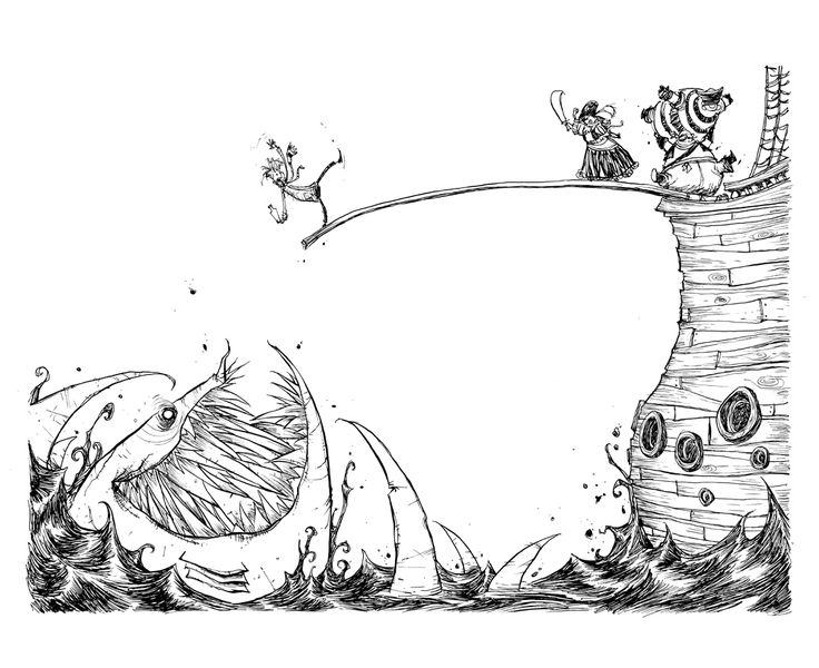 Fortunately the Milk by Skottie Young *