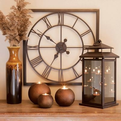 Part function and part fashion, an impressive wall clock like our Grandview Station Clock can create instant WOW in a room! Find it at www.EverydayStyle.com