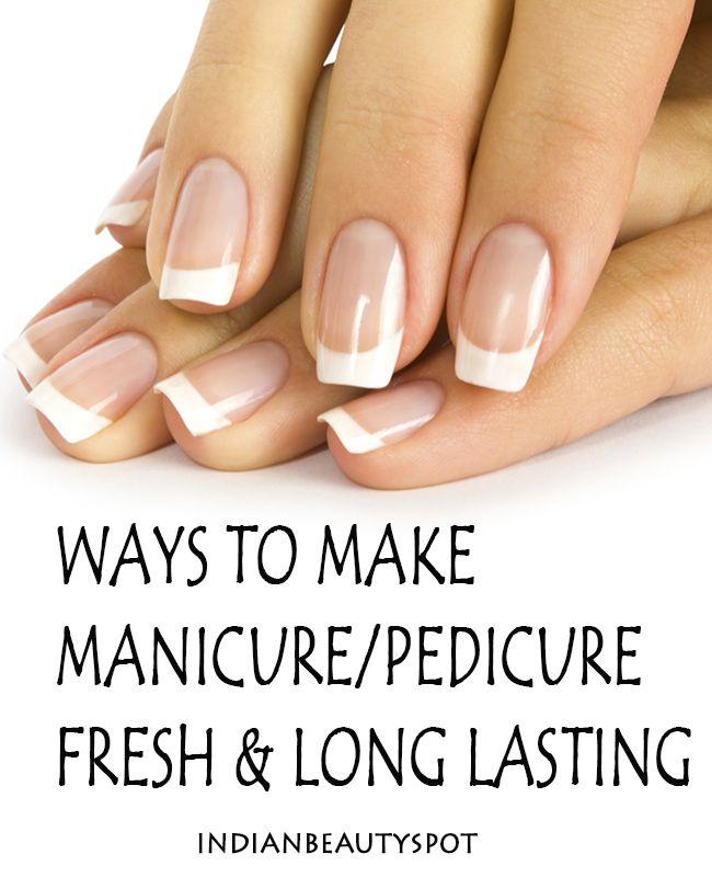 awesome tips to make  your nail polish last long