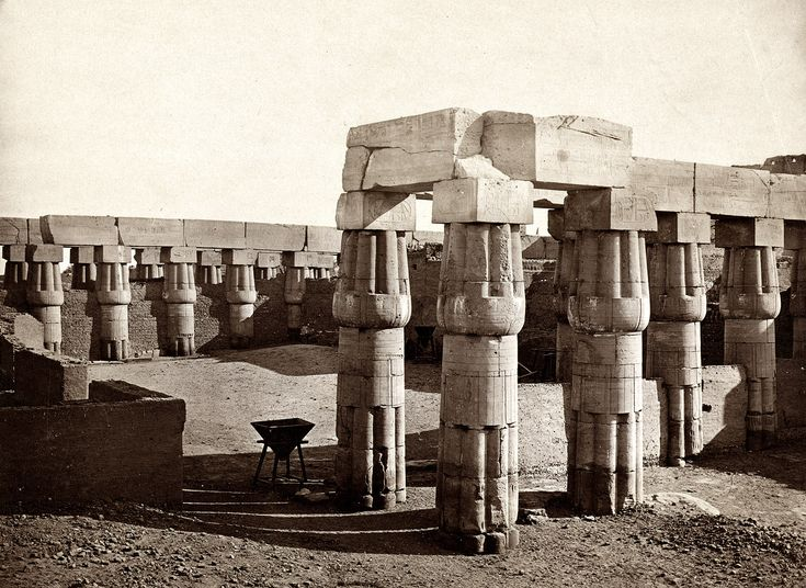 Shorpy Historical Photo Archive :: Luxor: 1858