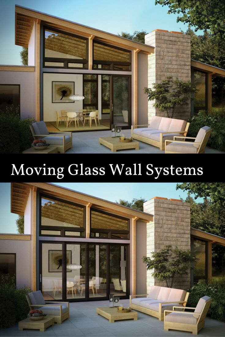 35 best sliding patio doors we love images on pinterest for Moving glass wall