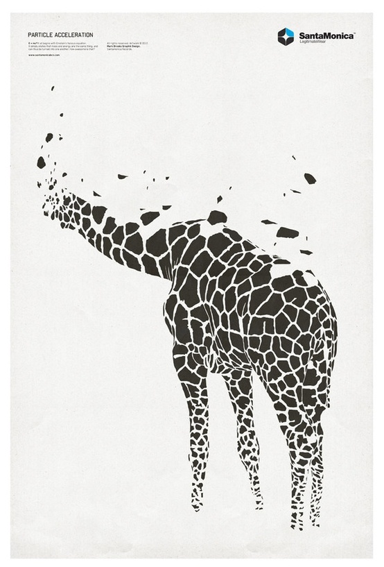 .: Inspiration, Illustration, Graphicdesign, Art, Graphics Design, Mark Brooks, Posters, Design Blog, Giraffes
