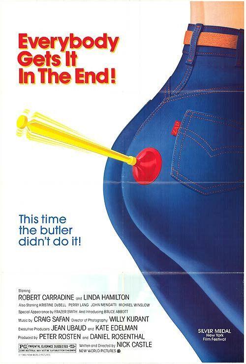 Tag: The Assassination Game (1982) Stars: Robert Carradine, Linda Hamilton, Kristine DeBell, Perry Lang, John Mengatti ~ Director: Nick Castle