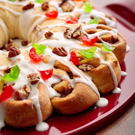 Make your holiday mornings extra-special with our recipes for coffee cake, muffins, scones, quick breads and yeast breads.