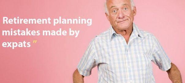 Retirement planning mistakes made by expats.  #pension #retirement #savings #british #britain #uk #unitedkingdom #london #dubai #australia
