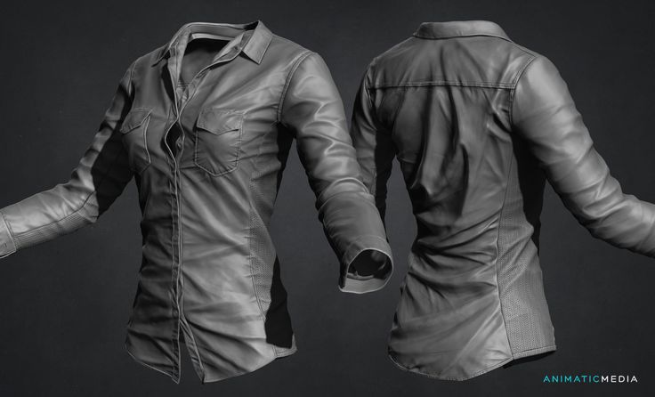 ArtStation - Making Shirt with Zbrush + Marvlous Designer (Time Lapse), Jason Ahn