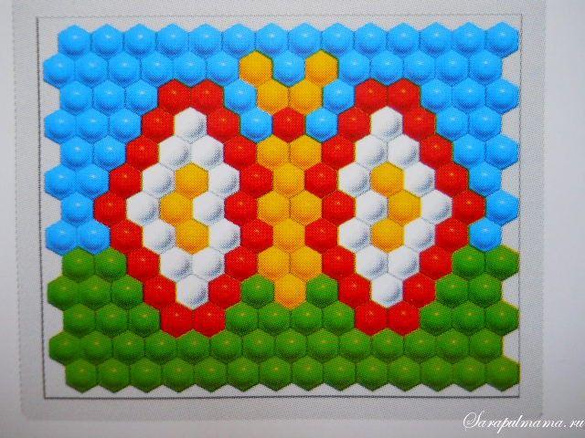 Картинки из мозаики для детей 3-4 лет