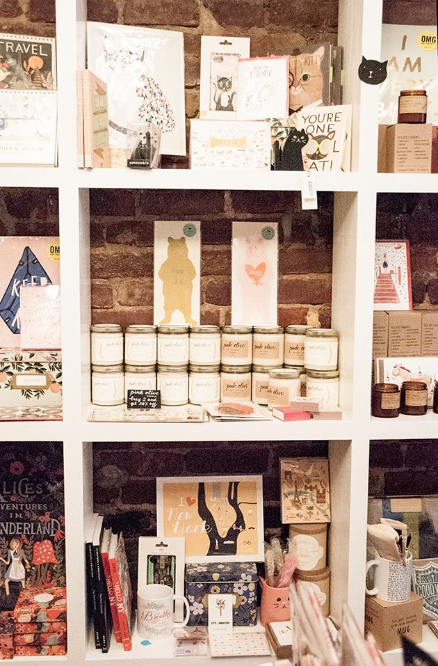 Beautiful stationery shop in New York: Pink Olive                              …