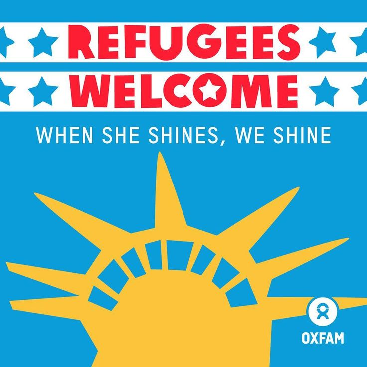The statue of liberty reflects our greatest value as Americans: welcoming those who need refuge. Today on the the fourth of July, we are proud to share the image of Lady Liberty, a symbol of what it means to be American and of welcoming others. Together, we will keep fighting to make #RefugeesWelcome. #independenceday #4thofjuly #happyfourth #july4th