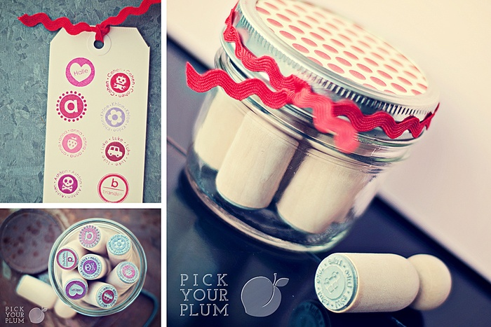 New Year, New Stamps - Fabulous Personalized Stamps at 65% Off!   PickYourPlum.Com