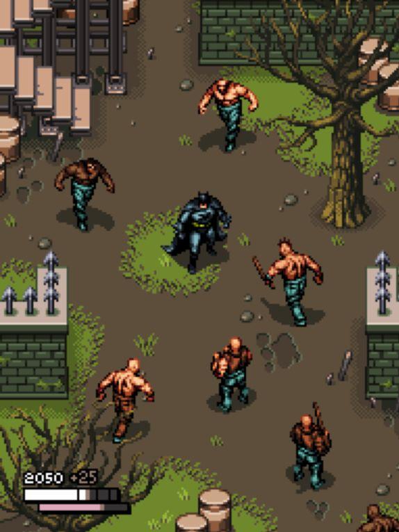 Junkboy's Arkham Asylum Pixel Demake