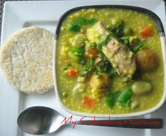 My Colombian Cocina - Cuchuco de Trigo