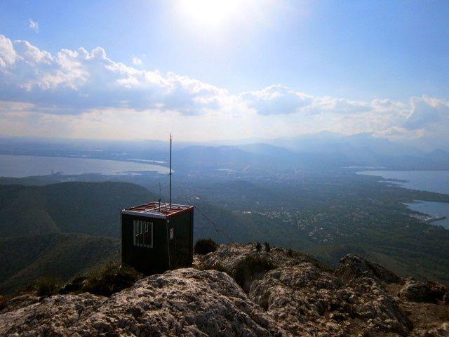From the top of La Victoria Alcudia, Mallorca Espanya