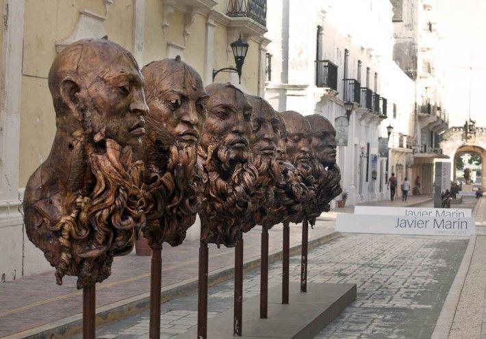 Javier Marín - Espacios públicos del centro histórico de la ciudad de Campeche | Julio a octubre de 2012 | Campeche, Campeche