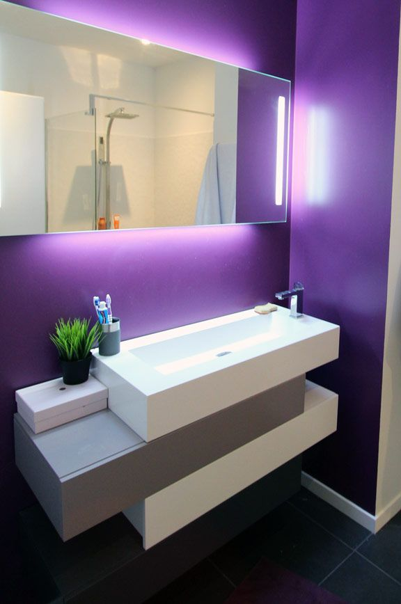 cool sink but I could do without the purple