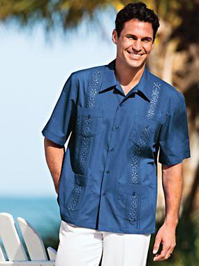 Tropicool 174 Guayabera Shirts For Men Cuban Dress Shirt
