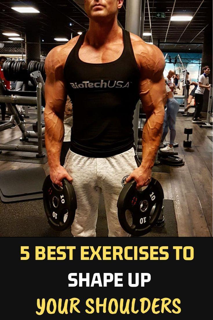 5 Best Exercises To Shape Up Your Shoulders Fitness Bodybuilding Gym Should Shoulder Workout Bodybuilding Shoulder Workout Women Shoulder Workouts For Men