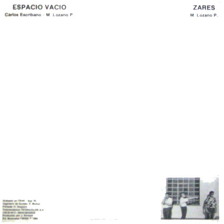 Septimo sello - Espacio vacio (1985) trasera #contraportadavinilo #backcovervinyl #maxisingle #12inch #maxi #vinilo #vinyl #contraportada #backcover #albumcover