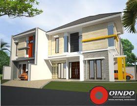 Desain Rumah Sudut