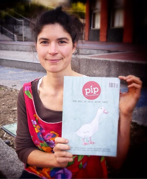 Launch of Pip at Food 4 Thought gathering in Hobart