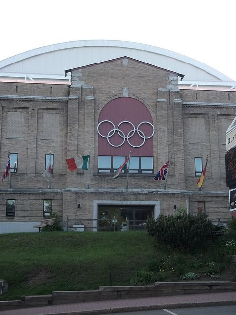 Lake Placid New York. Olympic Arena - saw Mary   Kate and a skating show here