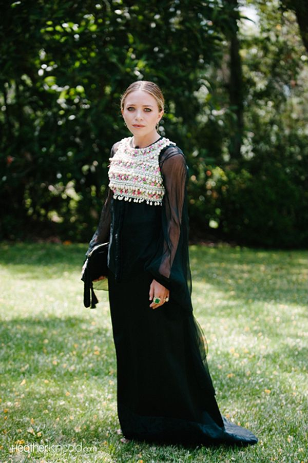 Olsens Anonymous - Mary Kate Olsen at Molly Fishkin Wedding