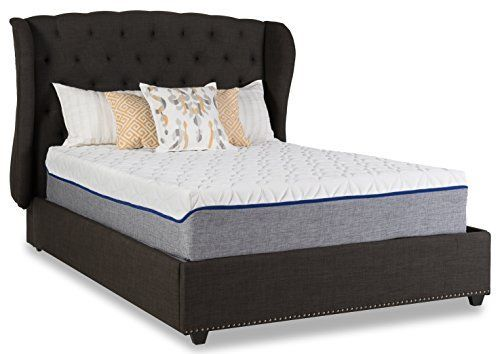 revive 12 inch chilly gel memory foam mattress queen - Platform Bed Frame For Memory Foam Mattress