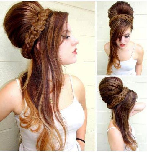 Peachy 1000 Ideas About Long Brunette Hairstyles On Pinterest Brunette Short Hairstyles For Black Women Fulllsitofus