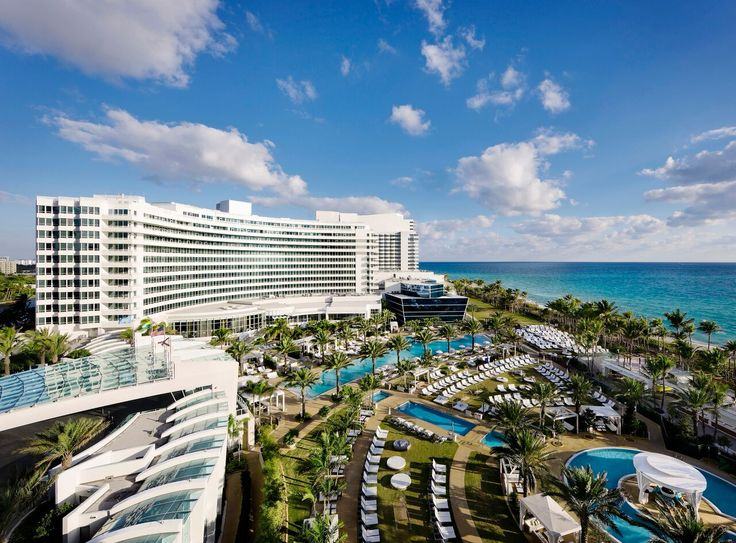 Fontainebleau S Poolscape Is Miami Beach Ultimate Playground