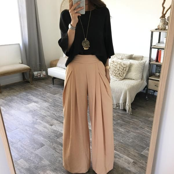 The Chloe Trousers - Nude