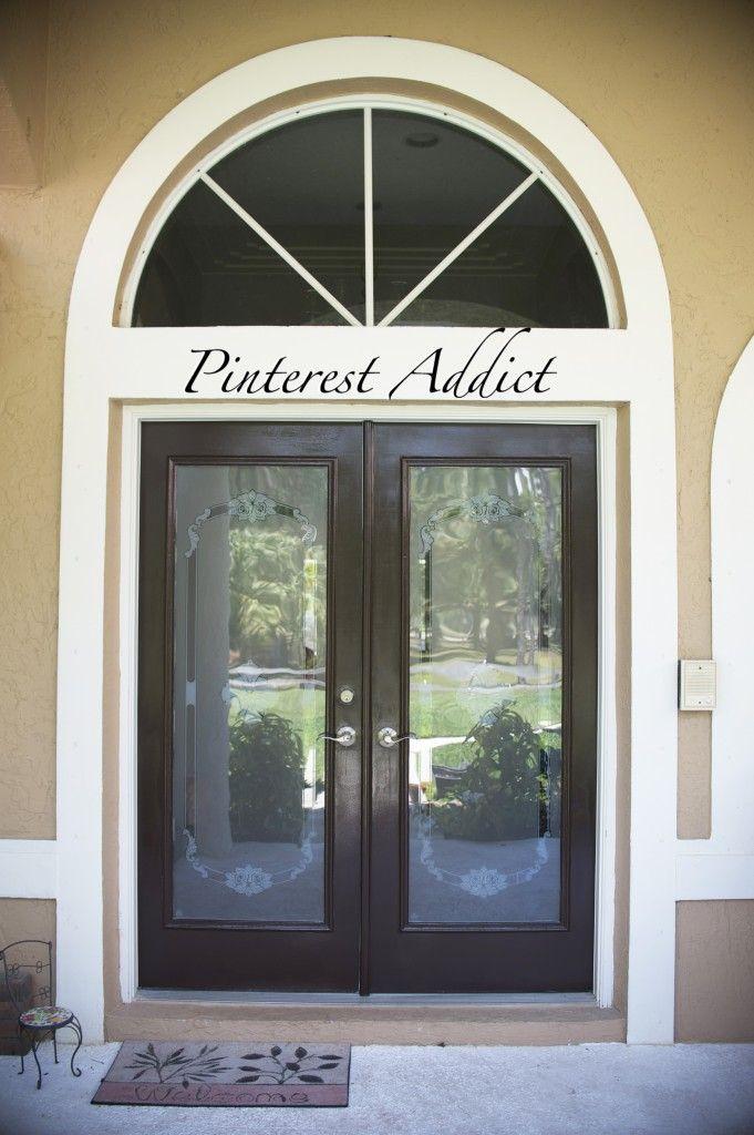 Freshly Painted Door   Come On In