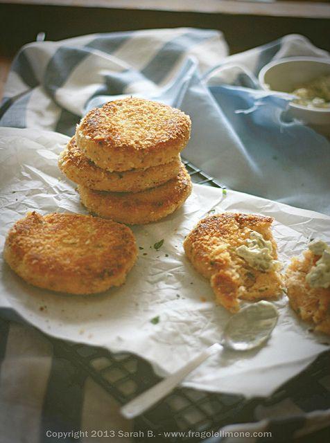 Fishburger con patate e pesce