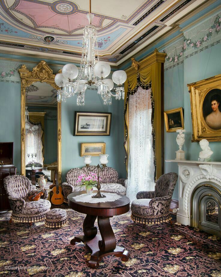 950 0 best plantation interiors images on pinterest - Victorian style house interior ...
