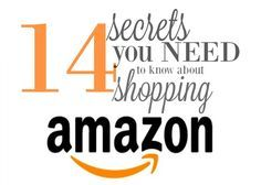 14 Things You Need to Know About Shopping Amazon Online - All on this article here. Find out why shopping Amazon Online has HUGE benefits.