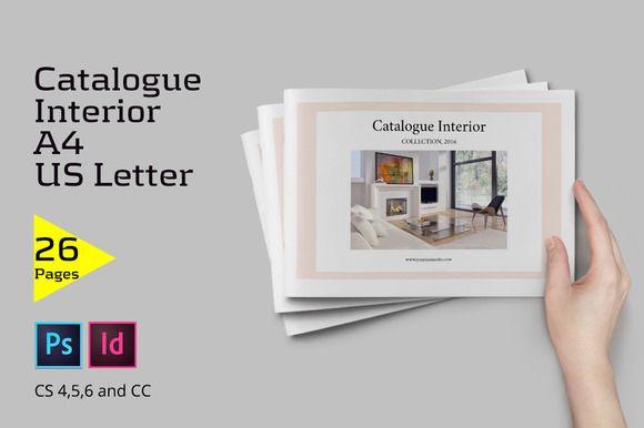 Catalogue Interior by Firtana on @creativemarket