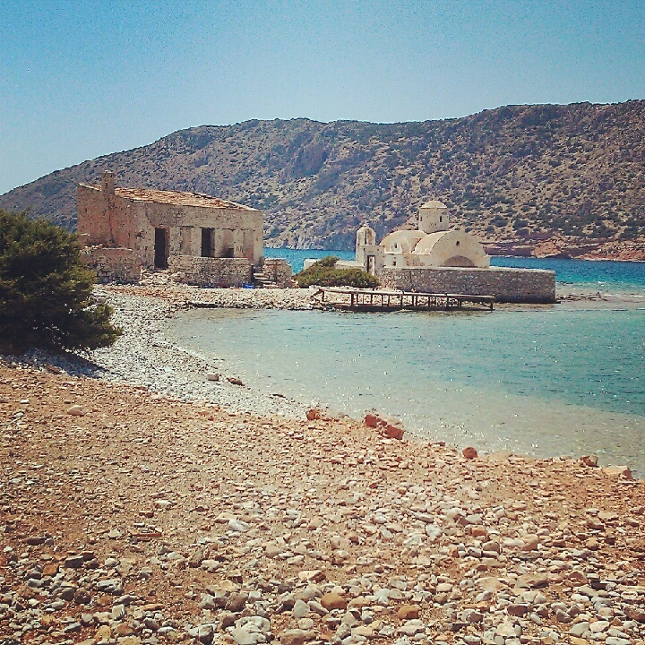 Toasing for 2 hours near Lesbos, Greece