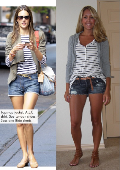 Love this website! She takes expensive looks and tells you stores you can find cheap similar looks! Heck, even look in your own closet to put these outfits together! Pin now, look later