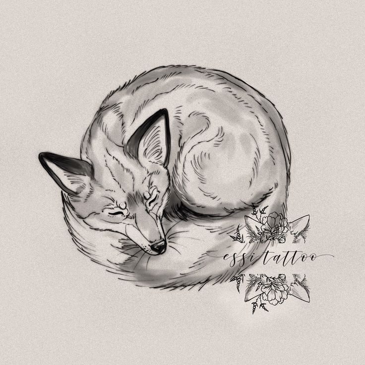 @essitattoo ✨ #fox #kettu #drawing #sketch #art #illustration #piirustus #tatuoinnit #tatuointi #essitattoo #animaldrawing #illustrationtattoo #animals #wildlifeart #illustrator #tattooartist #tattoosketch #nat...