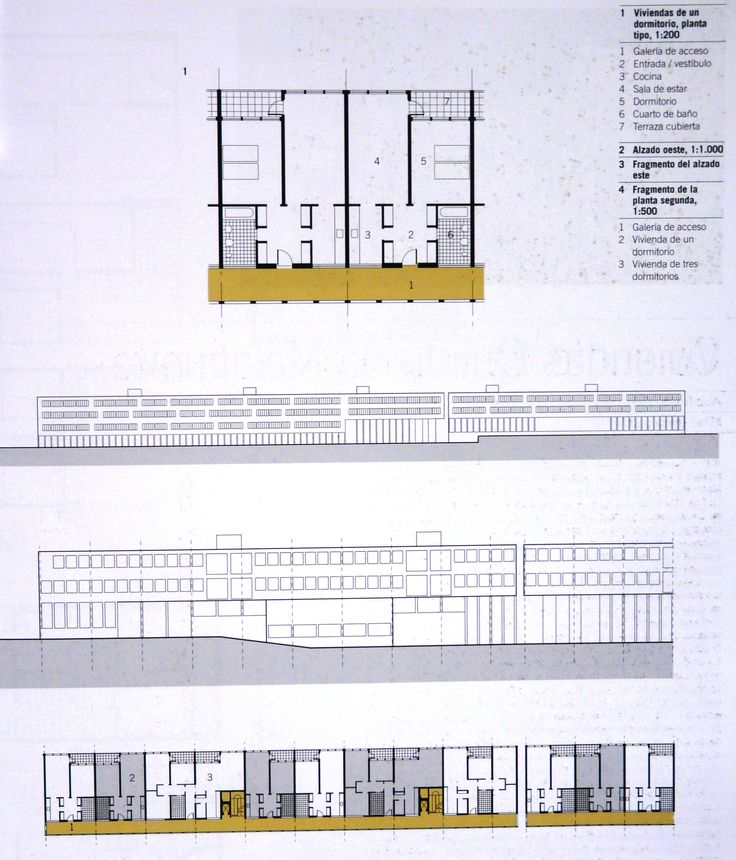 Gallaratese housing, Aldo Rossi