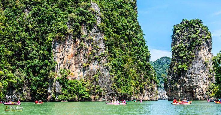 Beautiful scenery of Phang Nga