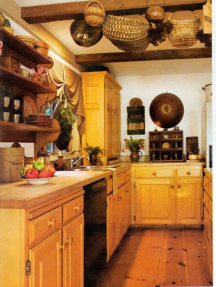 1000 images about country and primitive kitchens on pinterest for Black country kitchen