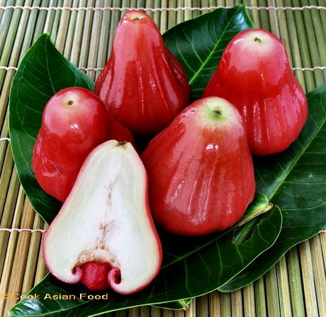 Eugenia                       Scientific                        Eugenia jambos is a scientific name for the Rose Apple. Rose apples got their name because these crispy fruits smell and taste like rose water