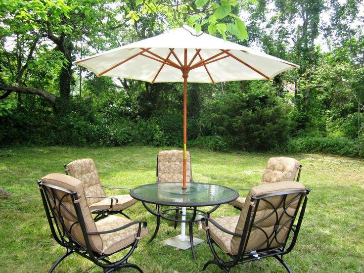 best patio table umbrella ideas