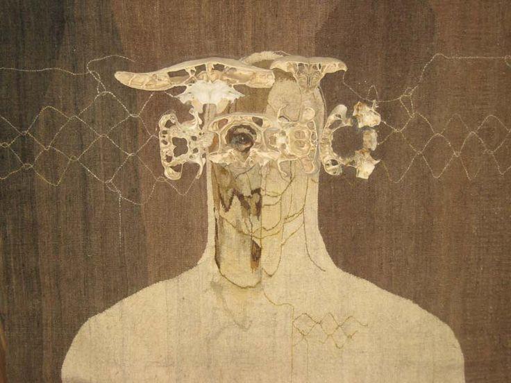 judith mason - tapestry 'bell jar man'