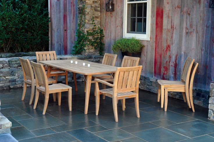 29 best wooden dining furniture images on pinterest for Outdoor furniture bunbury
