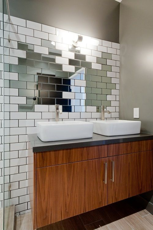 baie moderna mobilier baie doua usi doua chiuvete