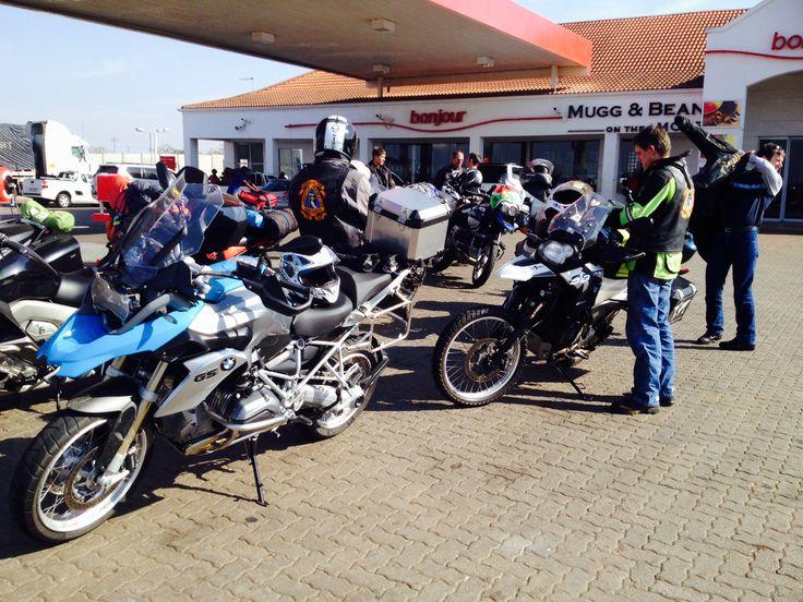 Petrol stop